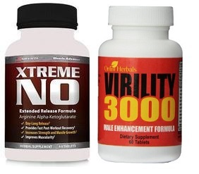 Virility 3000 And Xtreme No Male Enhancement Combo