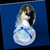 wedding photo book, teacup photo book