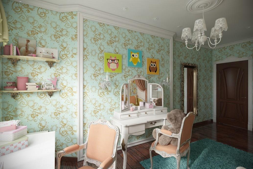Дизайн детской комнаты Хабаровск