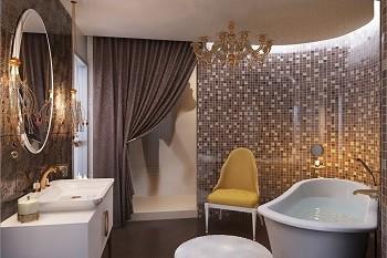 Дизайн роскошной ванной Хабаровск
