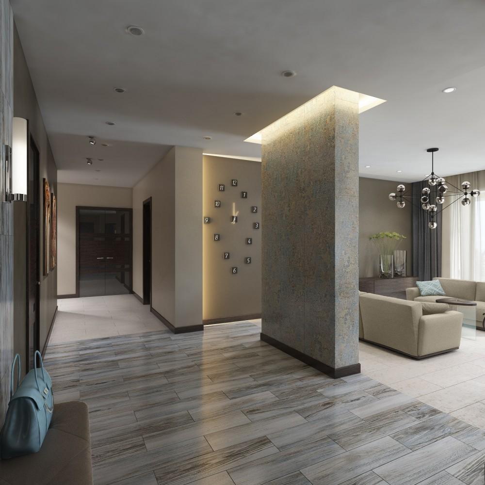 Дизайн большой квартиры Хабаровск