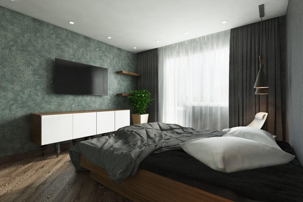 Интерьер спальни заказать Хабаровск