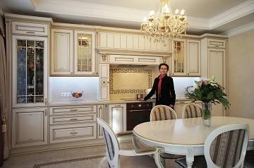 Фото до и после ремонта Дизайн кухни Лукашово