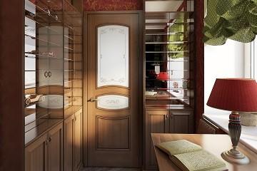 Дизайн небольшого кабинета Хабаровск
