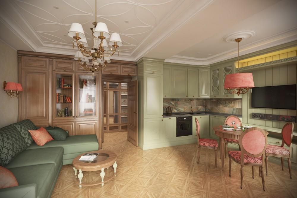 Дизайн гостиной Хабаровск