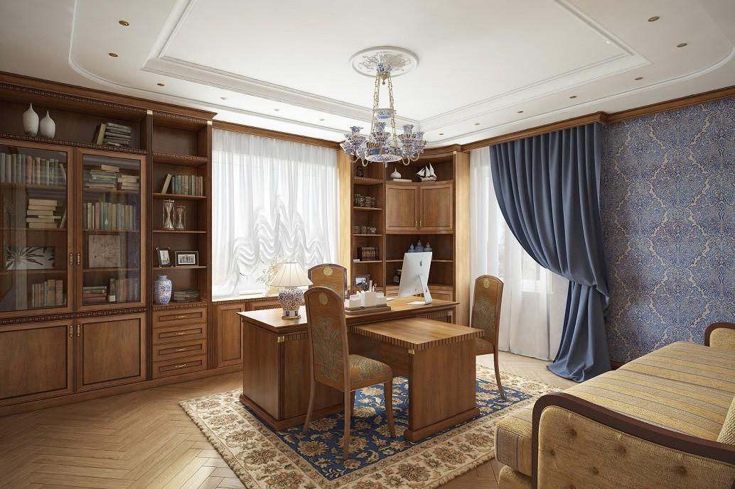 Дизайн кабинета в Хабаровске