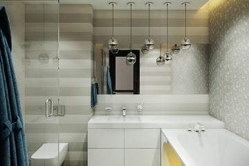 Дизайн ванной в стиле