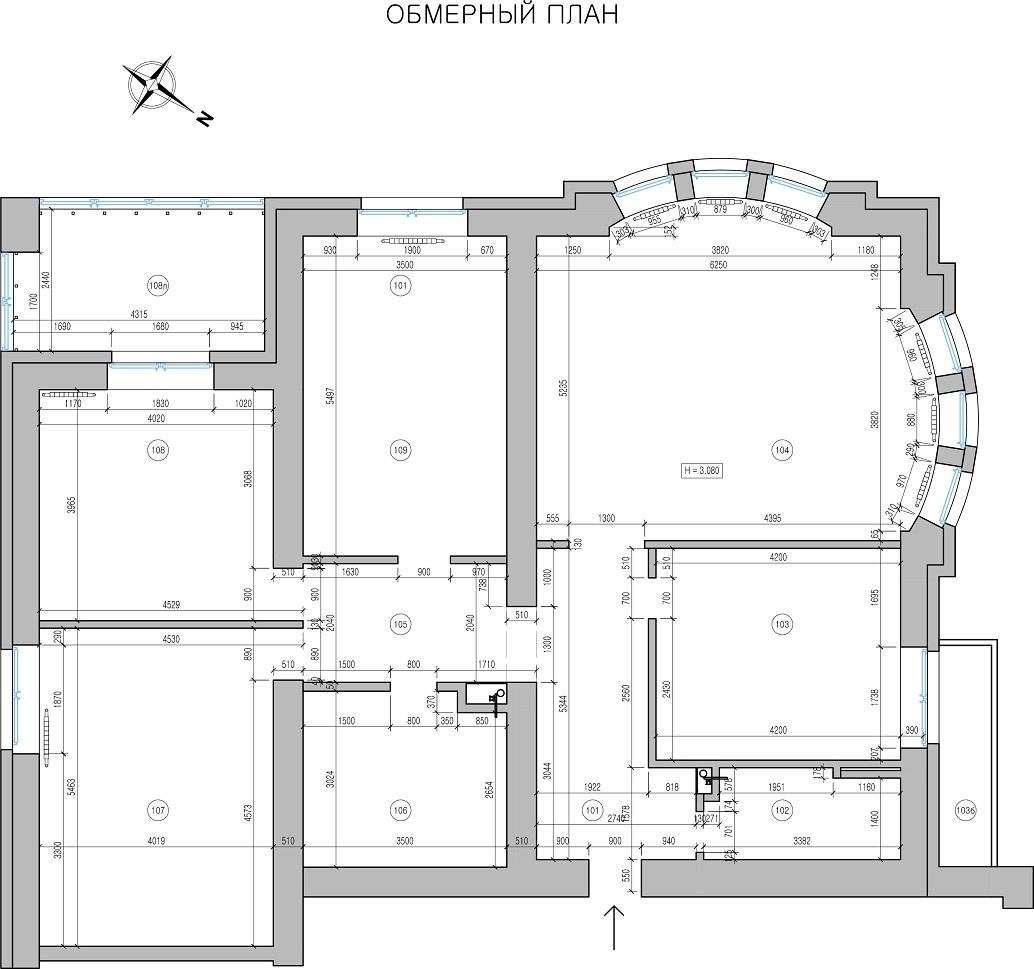 План квартиры Амурские зори