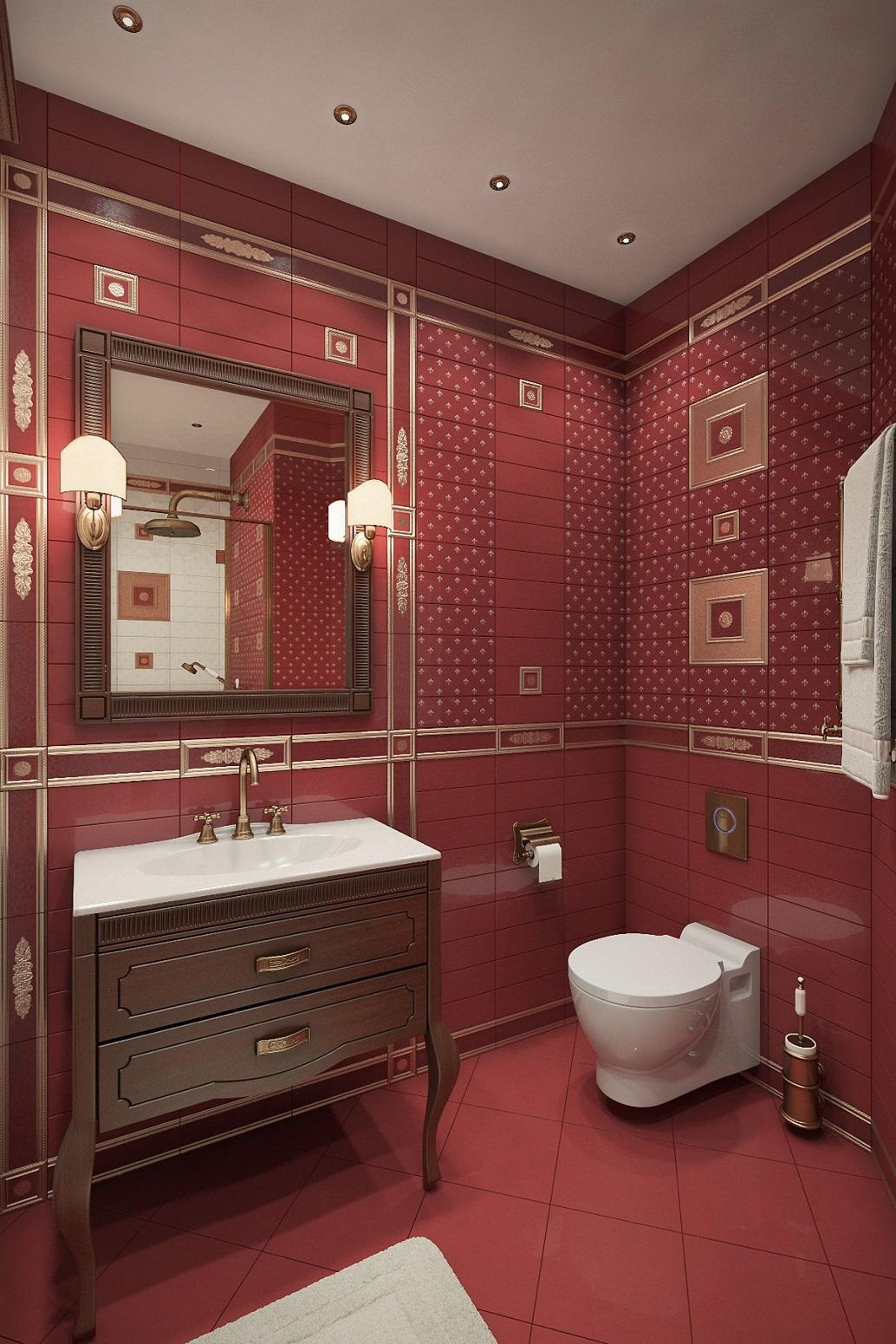 Дизайн совмещенного туалета в Хабаровске