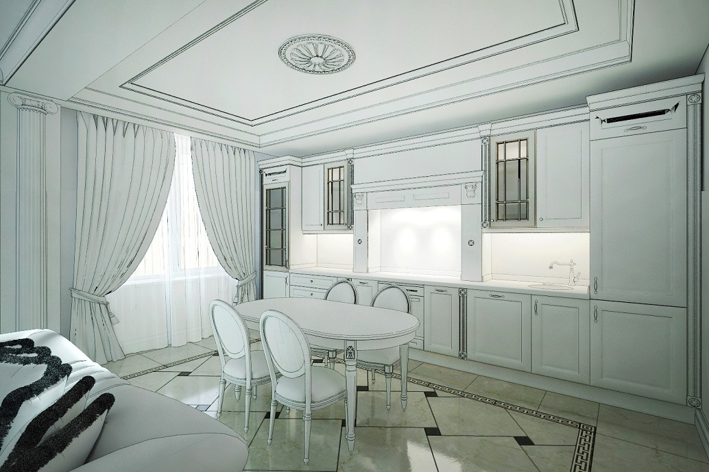 Интерьер кухни Хабаровск