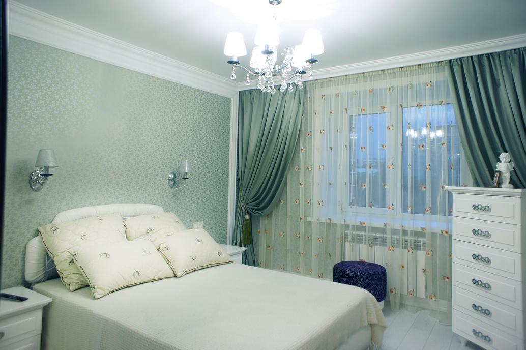 Дизайн интерьера спальной комнаты. Фото ремонта
