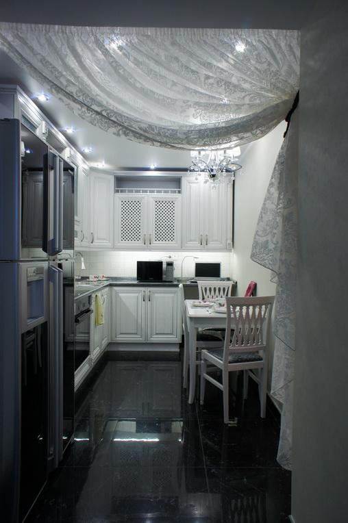 Дизайн кухни в двухкомнатной квартире в Хабаровске