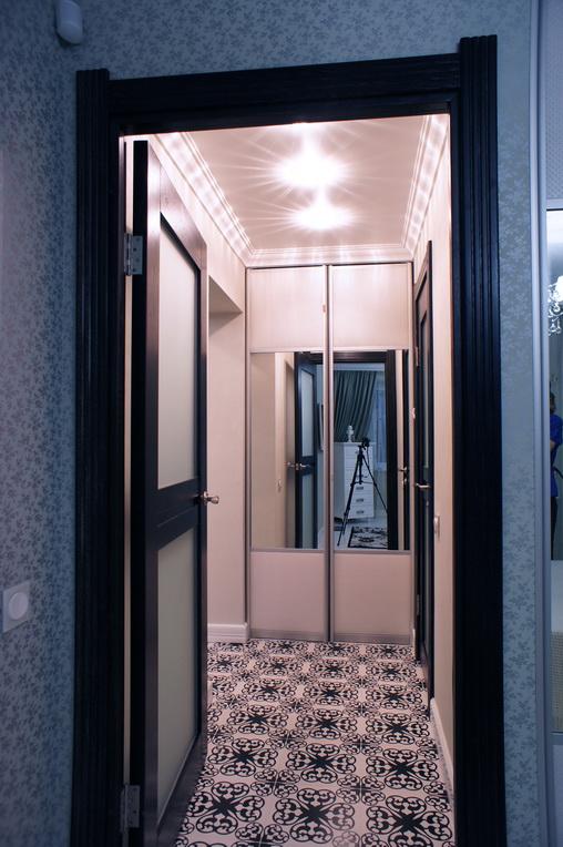 Дизайн интерьера квартиры. Шкаф для стирки и уборки