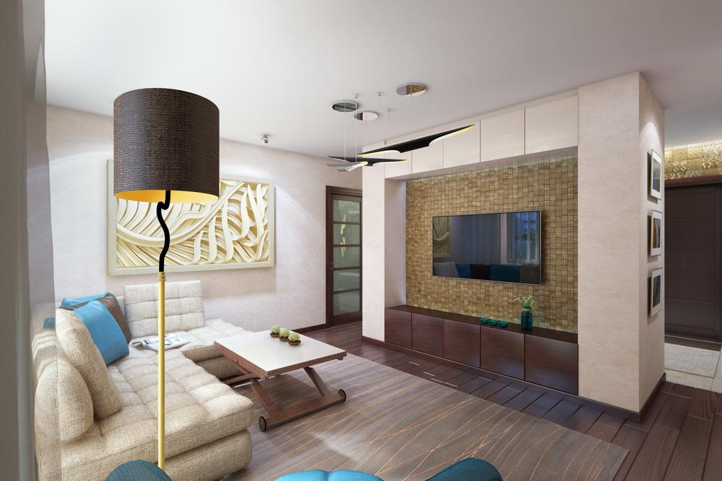 Дизайн гостиной в Хабаровске