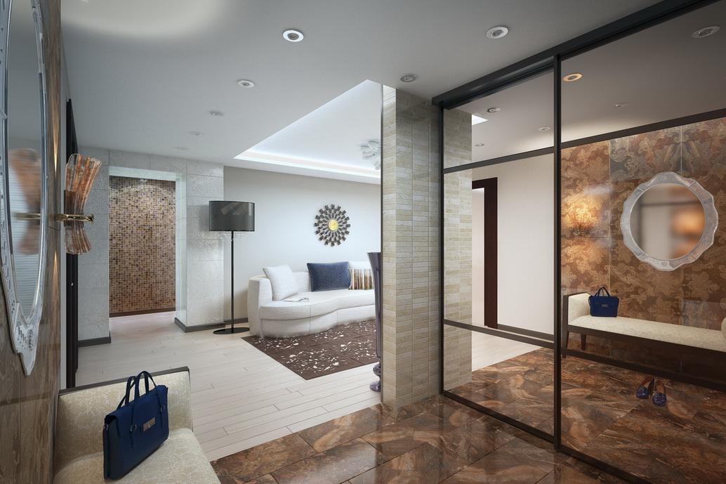 Дизайн интерьера квартиры Хабаровск