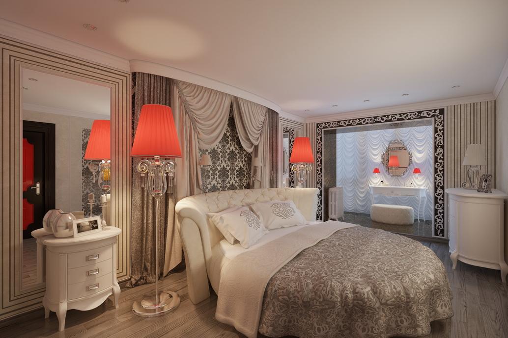 Дизайн спальни в Хабаровске