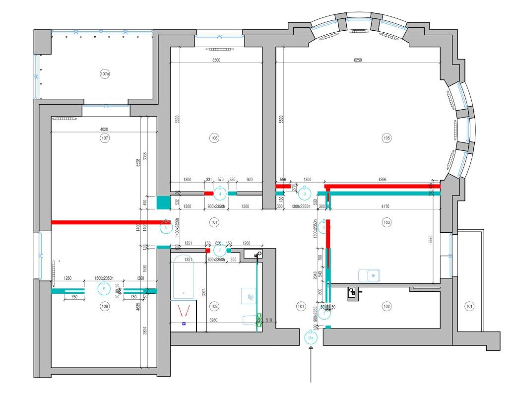 Дизайн квартиры Амурские зори