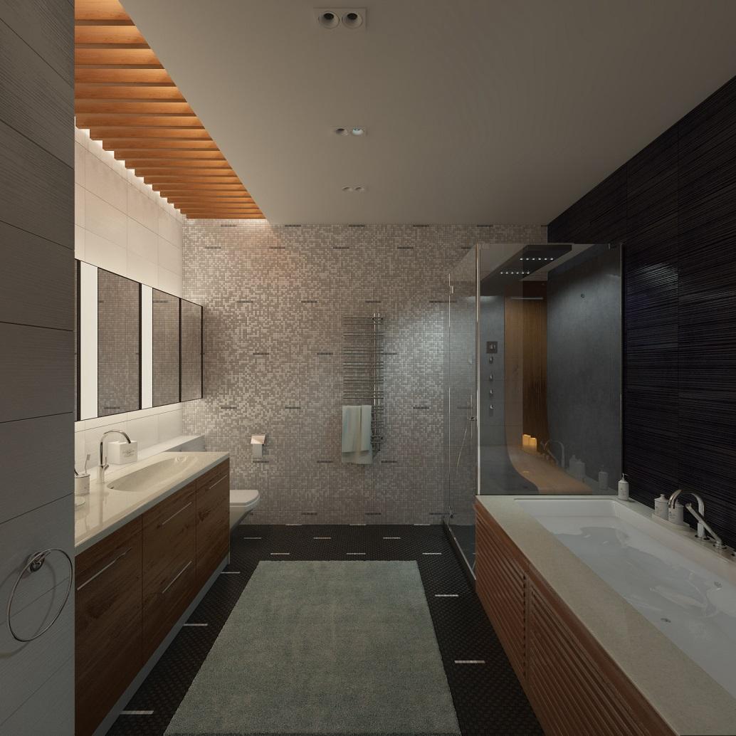 Дизайн интерьера квартиры Амурские зори