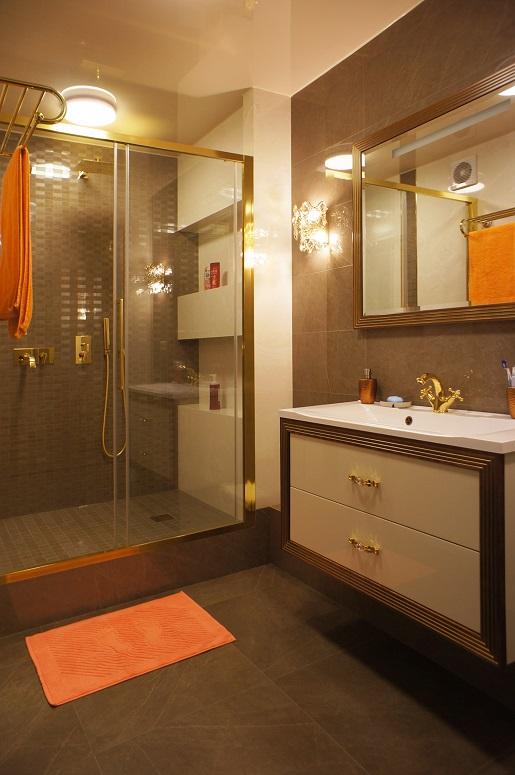 Дизайн ванны с душевой