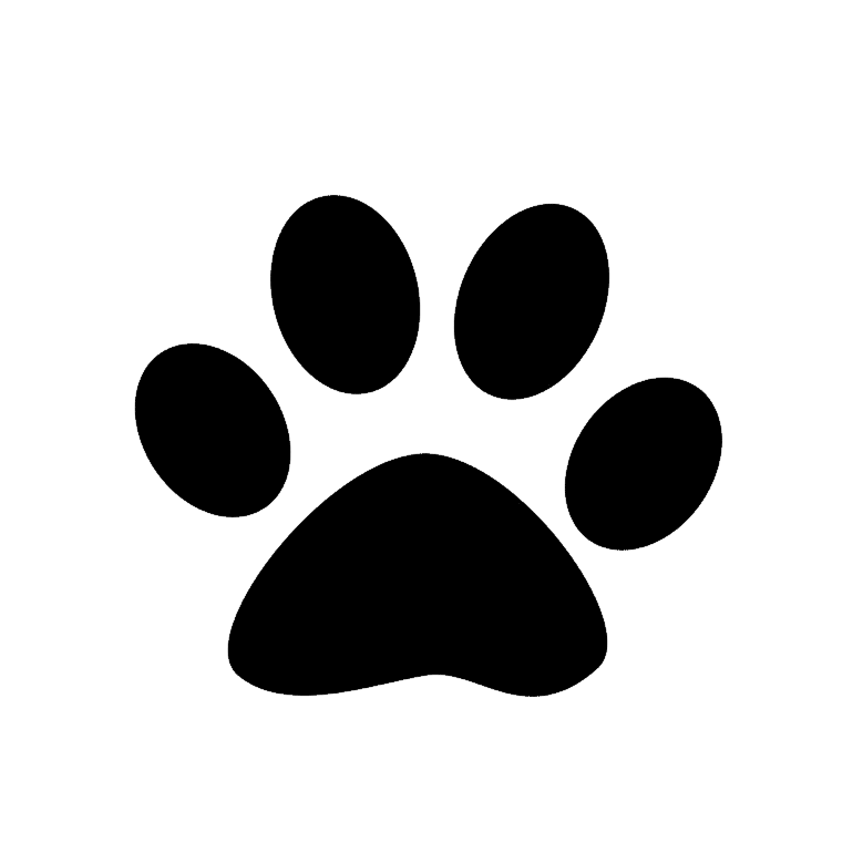Bear Paw Print Coloring Page Bear Paw Print Coloring Pages