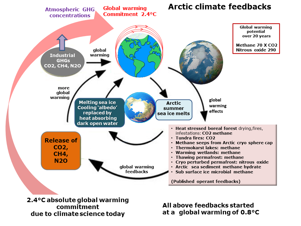 Climate feedbacks an interaction mechanism between processes in the climate system is called a climate feedback when the result of an initial process triggers changes in a ccuart Choice Image