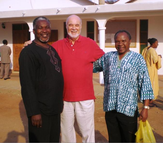 With Apostle Maboya & Dr. Ryoba