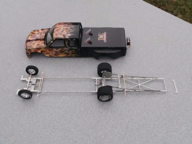 Scale Drag Car Parts