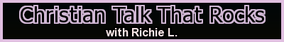Christian Talk That Rocks radio show banner