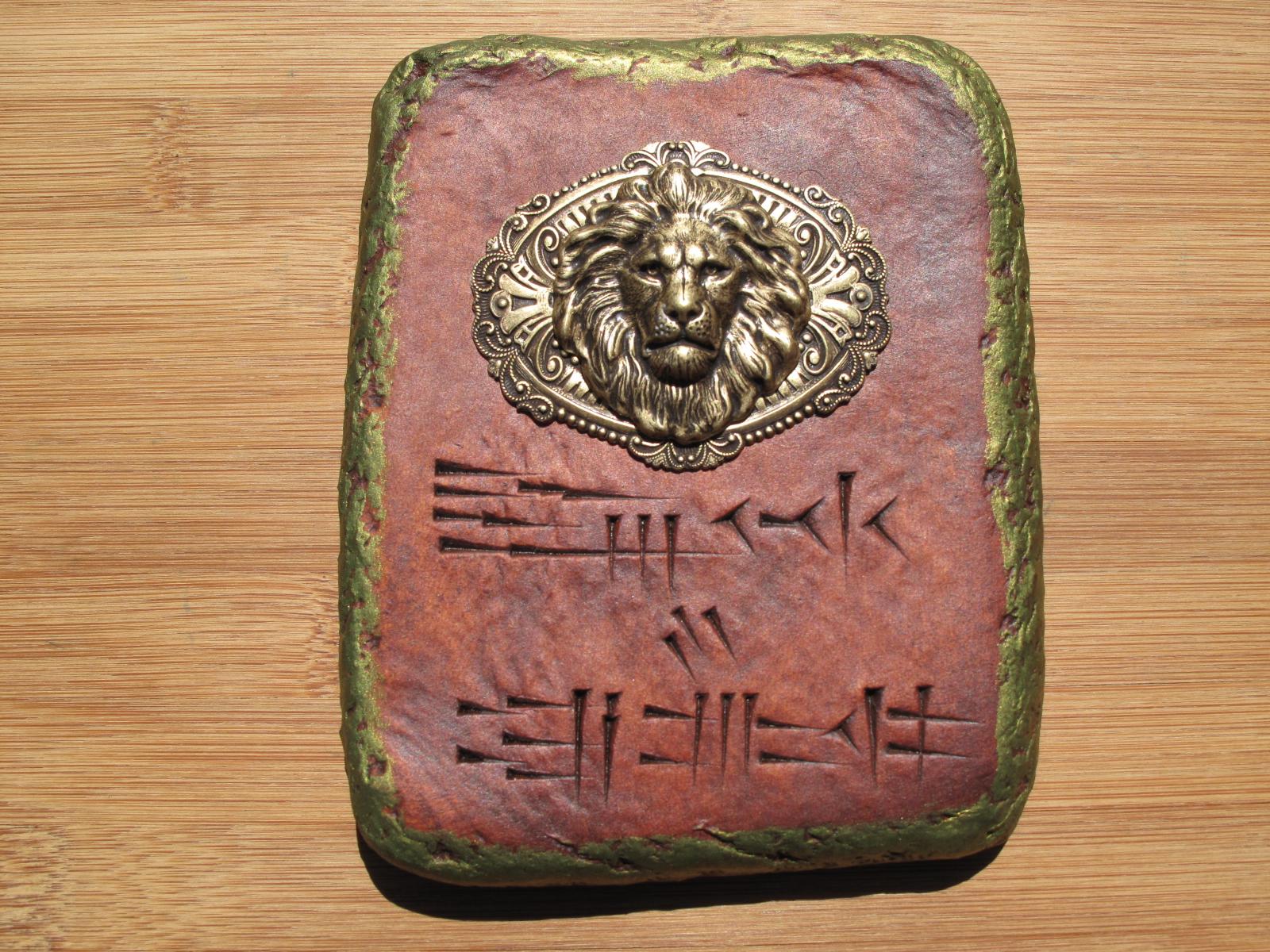 Kingdom of Judah cuneiform tablet.