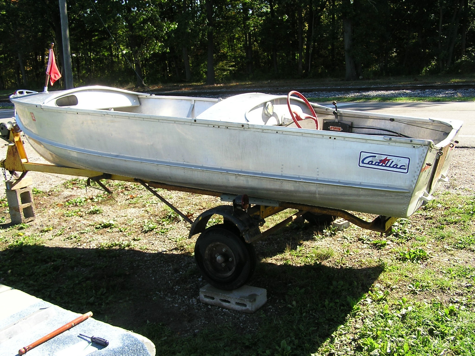 Cadillac boats for The fishing caddy