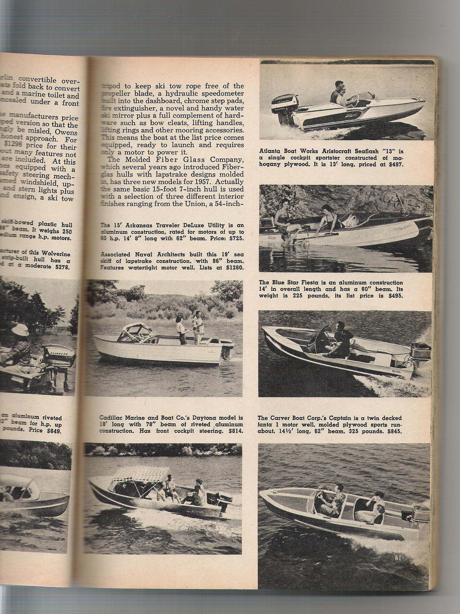 Cadillac Boat Company History