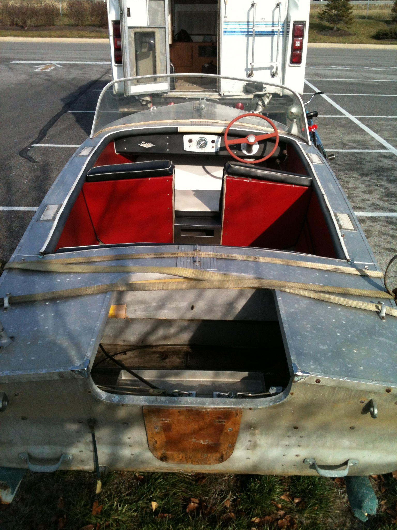 This message was sent to brian fogarty at his wolverine website by theresa broadwater our cadillac story we have owned an aluminum starcraft runabout for