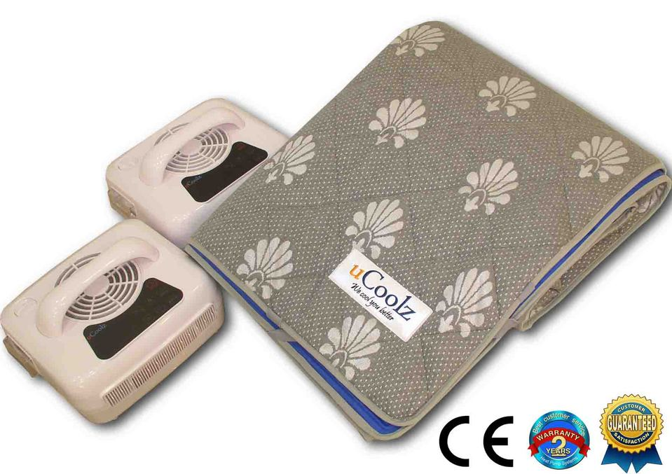 Dual Temperature Controlled Mattress Pad Air Conditioner Bed