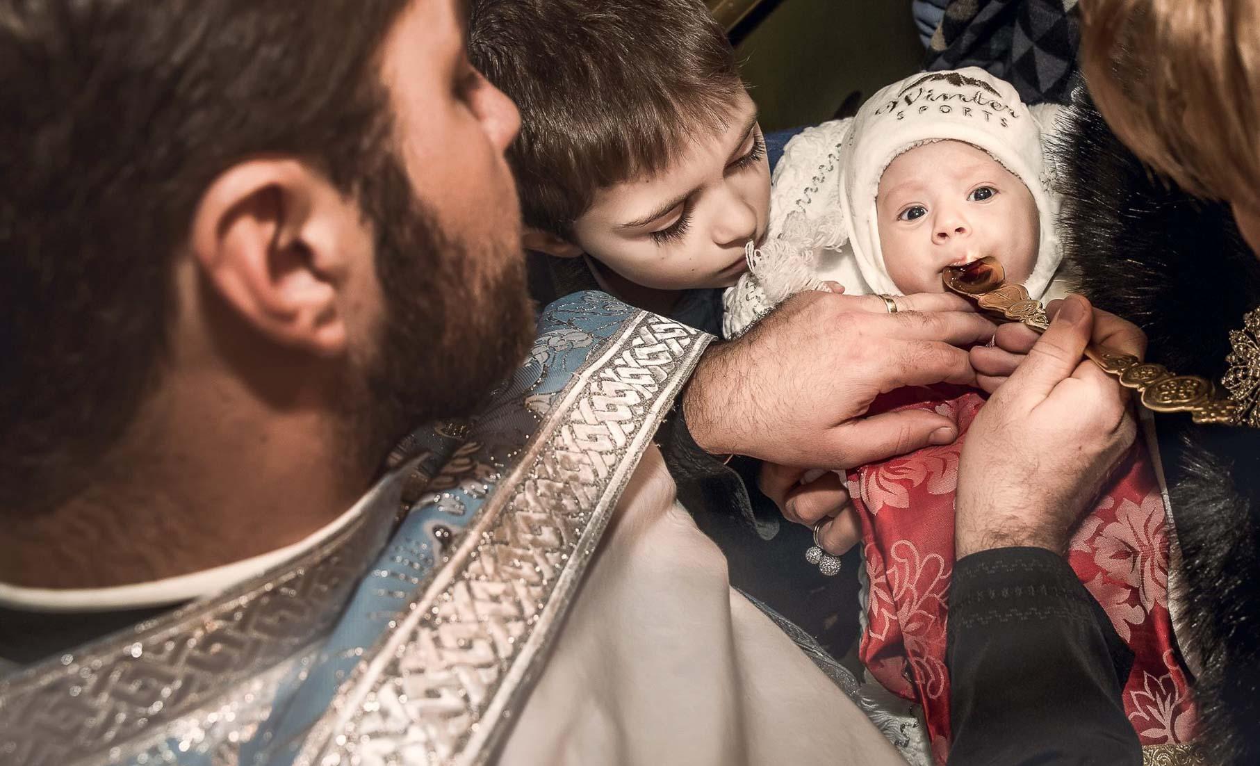 poze botez biserica - mihai roman