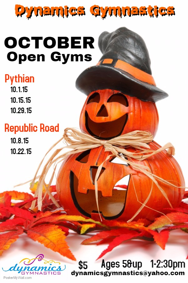 October 16 Open Gym