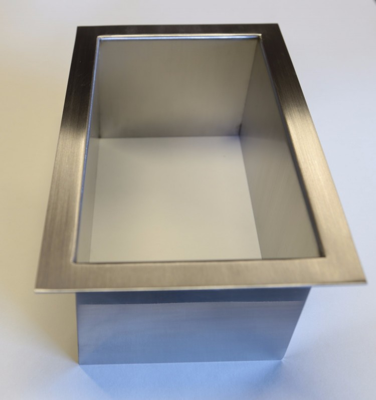 Hole Garbage Chute : Trash rings stainless steel countertop grommets socal