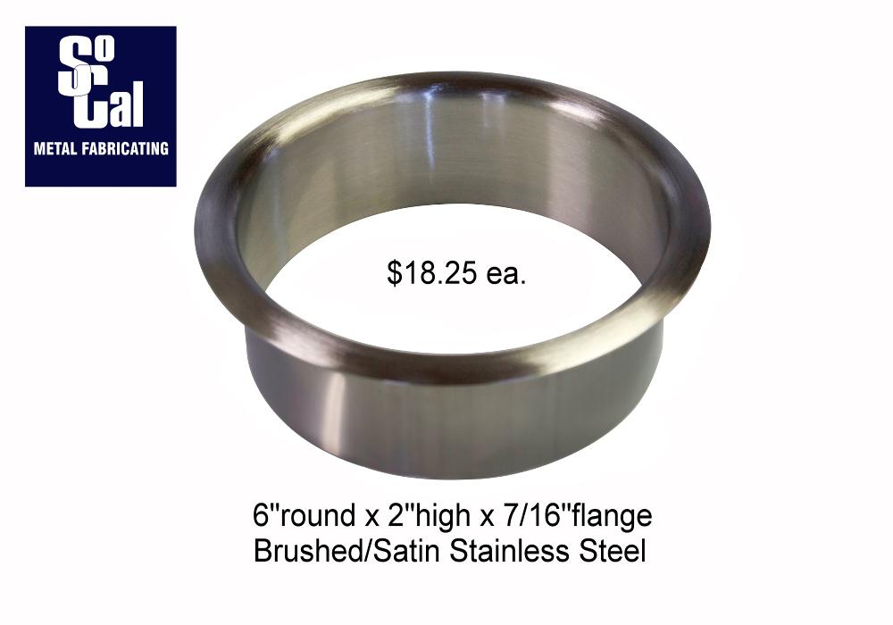 Trash Rings Stainless Steel Countertop Grommets Socal