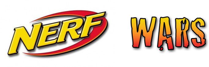 Effortless image with nerf logo printable