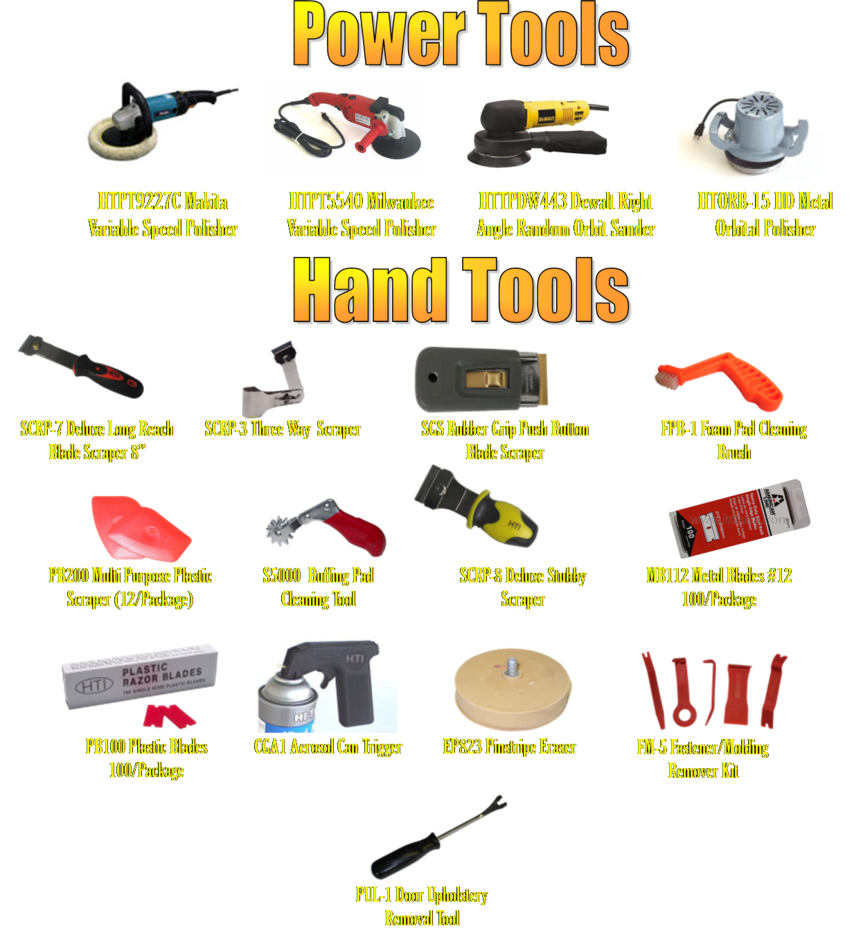 power tools buffers and polishers
