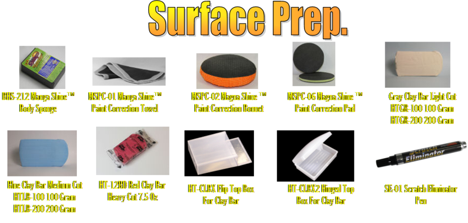 surface prep products clay bars