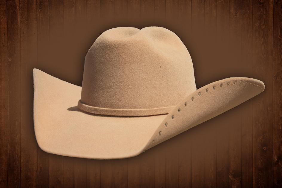 Custom Camel Cowgirl Cowboy Hat