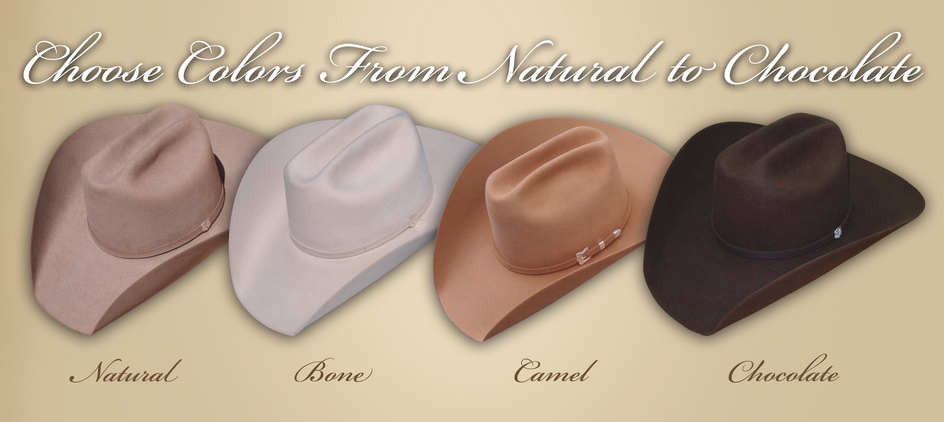 3fdca1d3d Custom Cowboy Hat Styles | Hally's Custom Hats
