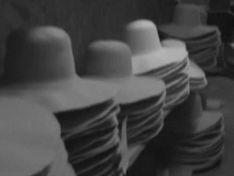 Custom Cowboy Hat Making Process Raw Hat Body