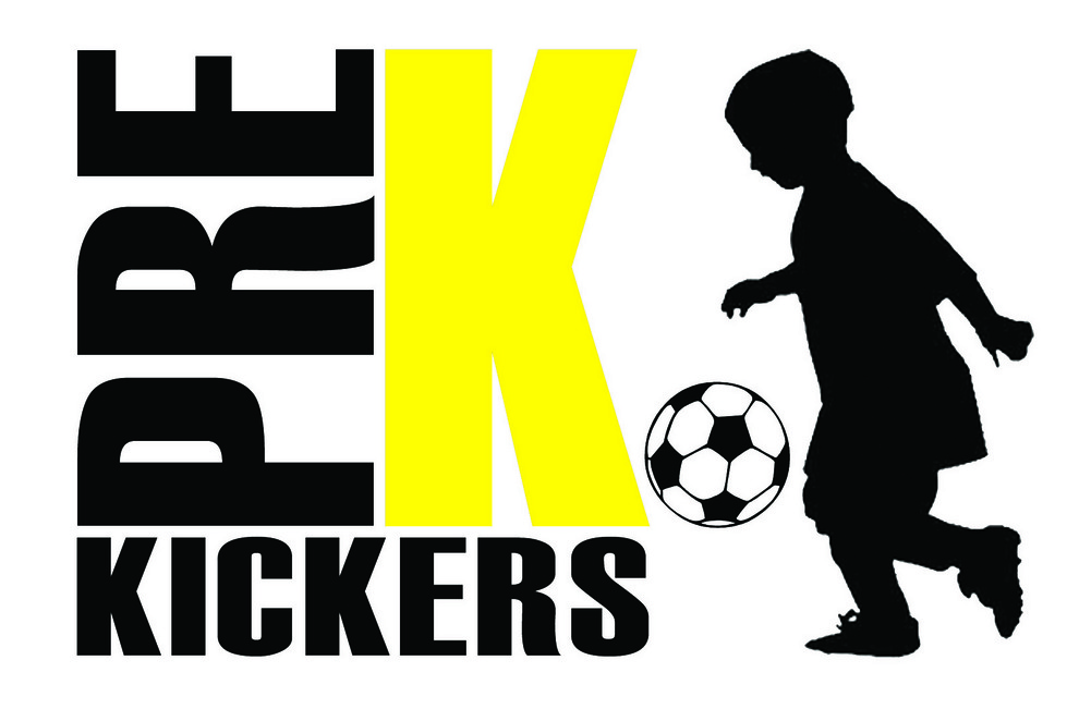 Pre K Kickers youth soccer training