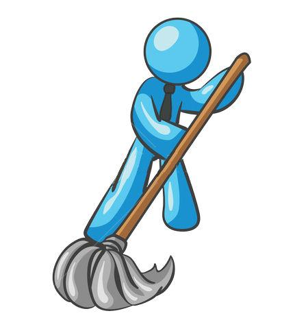Janitorial Cleaning Logo