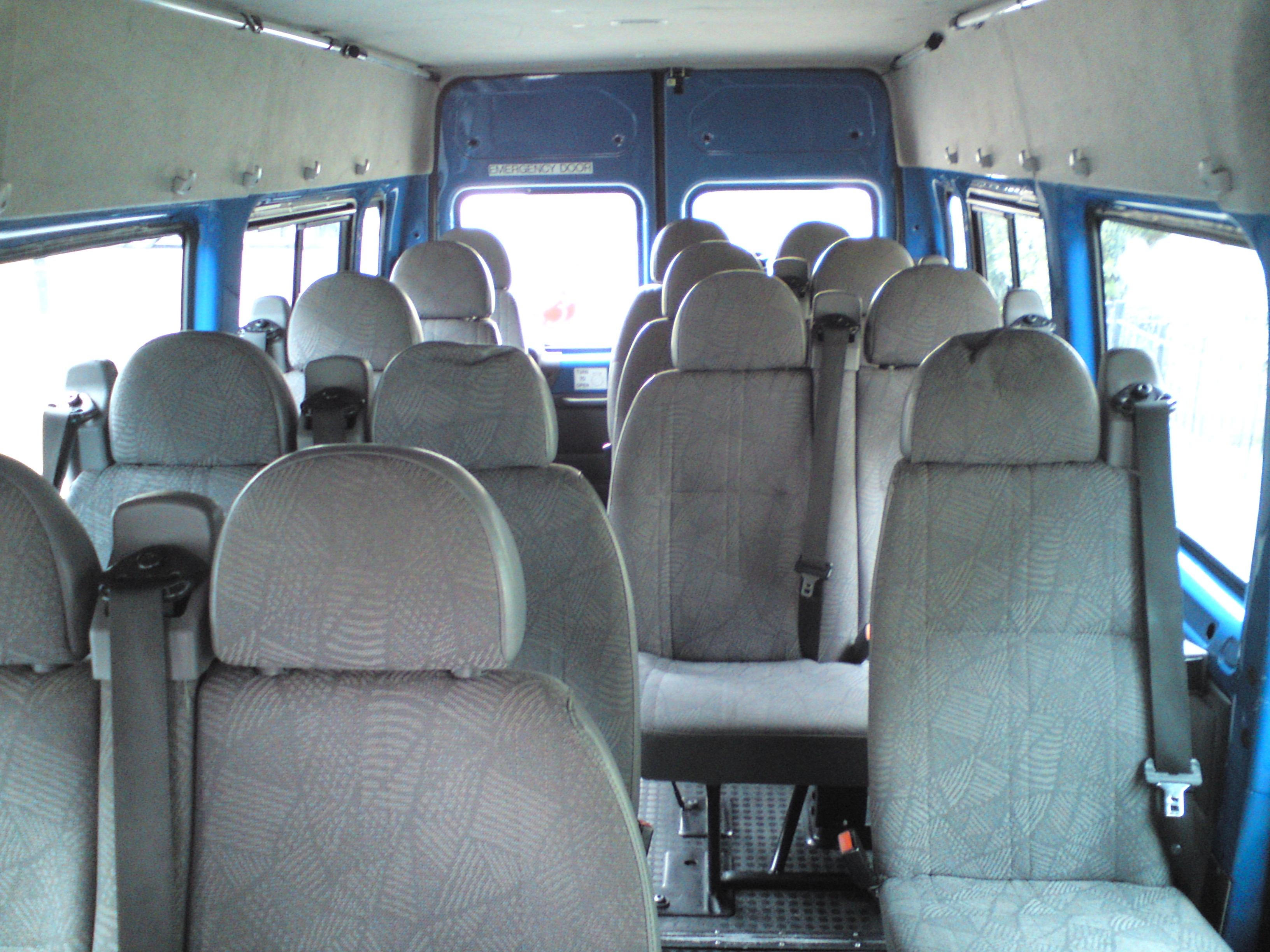 inside bus