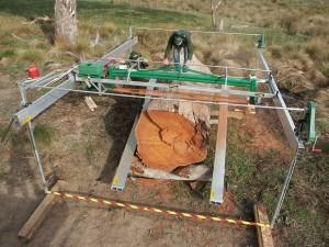 Slabbing Sawmill