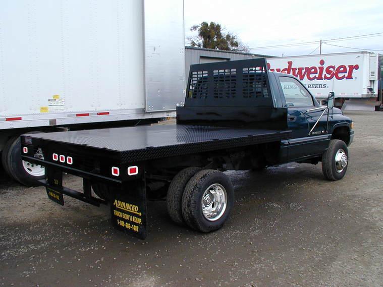Advanced Truck Body Amp Equipment Steel Flatbeds