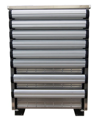 Service Body Tool Cabinet : Advanced truck body equipment aluminum flatbeds