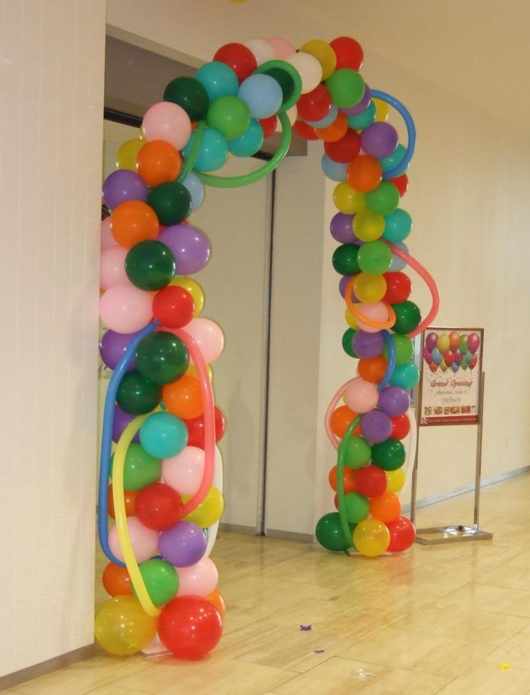 Balloons, Columns, Pinellas, Seminole